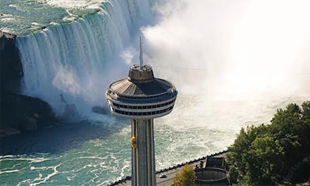 $50 for $80 Worth of Gourmet Dinner in the Revolving Dining Room at Skylon Tower