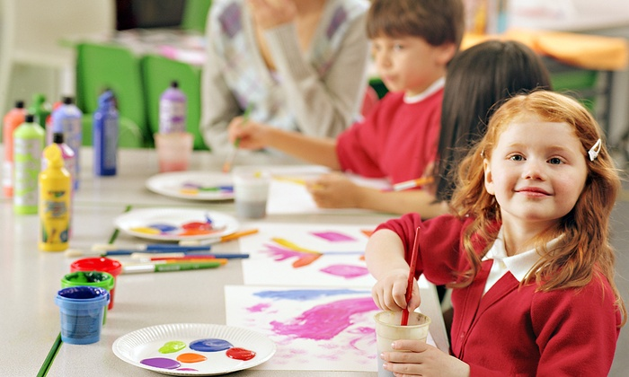 M.D. Art Studio - Mid-Wilshire: 4, 8, or 16 Kid's After-School Art Classes at M.D. Art Studio (42% Off)
