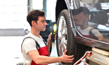 $99 for Front Brake Pads or Rear Brake Shoes at Surrey Centre Auto Repairs ($375 Value)