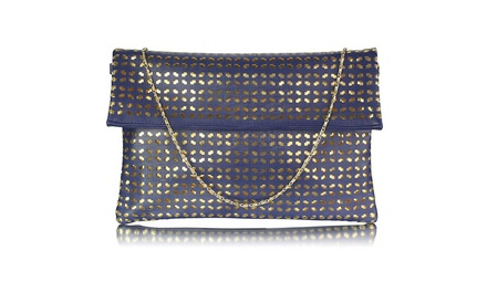 Women's Flap-Over Clutch Bag for £11.95 (75% Off)