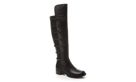 Adrienne Vittadini Tiger Tall Boots | Brought to You by ideel