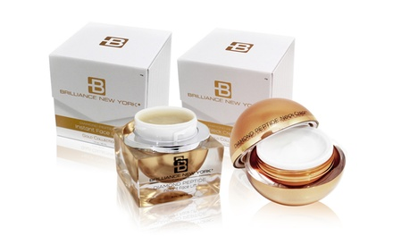 Brilliance New York Gold Collection Neck Cream and Instant Face Lift Duo