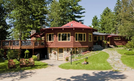 groupon daily deal - 1- or 2-Night Stay with $10 Food & Drink Credit at Nelson's Resort in Minnesota Northwoods
