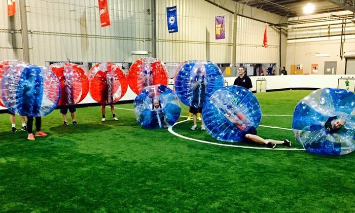 Buffalo Bubble Soccer - Buffalo: $340 for Bubble Soccer Equipment Rental for up to 20 People at Buffalo Bubble Soccer ($500 Value)