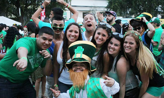 St. Patrick's Day Crawl Las Olas - Sailboat Bend: General Admission for One or Two to St. Patrick's Day Crawl Las Olas on March 17 (Up to 57% Off)