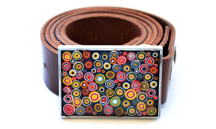 Glass Mosaic Canada - Stonegate - Queensway: One-Hour Millefiori Belt Buckle Workshop for One, Two, or Four at Glass Mosaic Canada (Up to61%  Off)