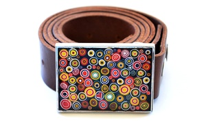 Glass Mosaic Canada: One-Hour Millefiori Belt Buckle Workshop for One, Two, or Four at Glass Mosaic Canada (Up to53%  Off)
