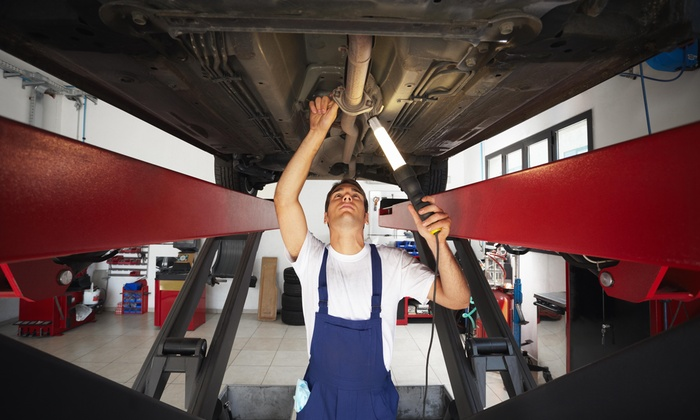 Meineke Car Center - Emmaus - Emmaus: Wheel Alignment at Meineke Car Care Center (54% Off)
