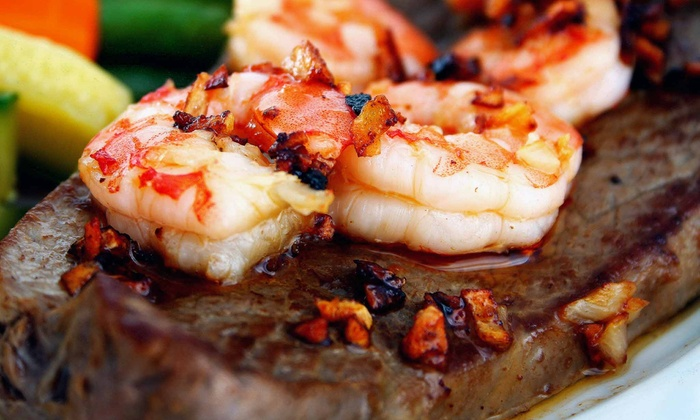 Bamboo Steakhouse - Camarillo: Brunch for Two or $15 for $25 Worth of American and Asian Food for Two at Bamboo Steakhouse