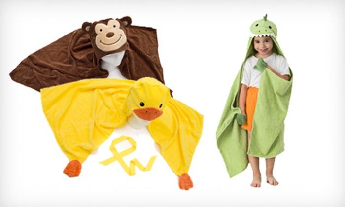 Pep and Doz Kid's Hooded Critter Towel: $15 for Pep and Doz Kid's Hooded Critter Towel ($32 List Price). Six Designs Available. Free Shipping and Returns.
