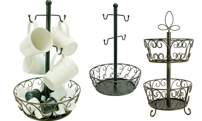 Decorative Coffee-Pod Holders: Decorative Coffee-Pod Holder. Multiple Styles Available. Free Returns.