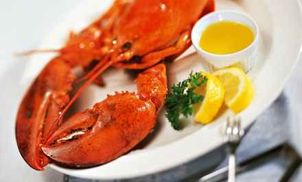 Lobster Dinner for Two or Four with Wine at Caffe Regatta Oyster Bar & Grill (Up to 51% Off)