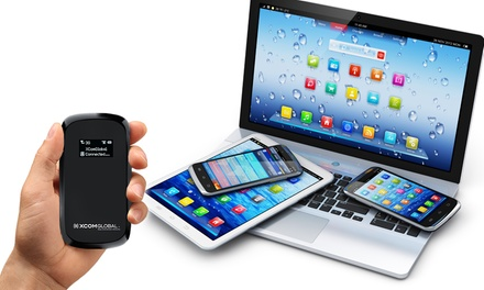 Three- or Seven-Day Rental of a Mobile WiFi Hot Spot from XCom Global (Up to 55% Off)