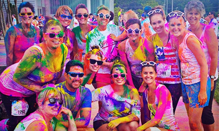 Sparkle Me Wild 5K - Midlothian: Sparkle Me Wild 5K Entry and Two Color Packets for One or Two (Up to 52% Off)