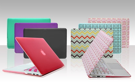 Abilene, TX: Aduro SoftTouch Cover with Keyboard Covers for Macbook Air, Pro, or Pro Retina Models