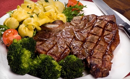 $50 Groupon to Gino's Steak House - Gino's Steak House in Dyer