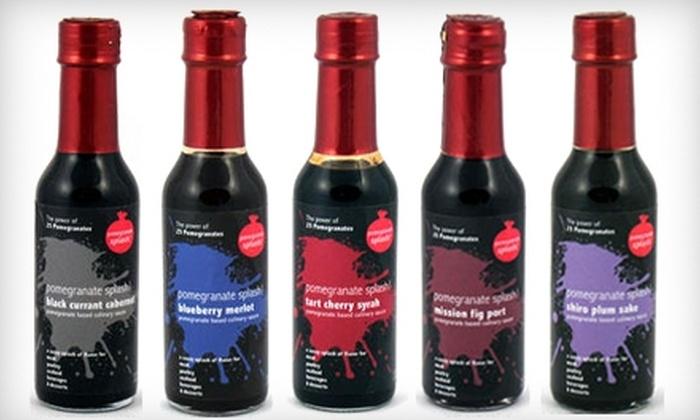 Pomegranate Splash! : $12 for Three Bottles of Gourmet Culinary Sauce from Pomegranate Splash! ($23.97 Value)