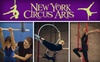 New York Circus Arts - Sunnyside: $25 for Your Choice of Adults' or Kids' Intro Class at New York Circus Arts ($45 Value)