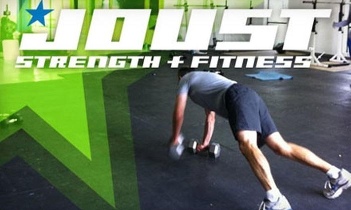 Joust Strength + Fitness - Bryant Pattengill East: $25 for Five Fitness Classes at Joust Strength + Fitness in Ann Arbor