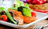 Restaurant Seven Fifty - Financial District: Power-Lunch Buffet for Two or Four Monday–Friday at 750 Restaurant & Bar (Up to 55% Off)