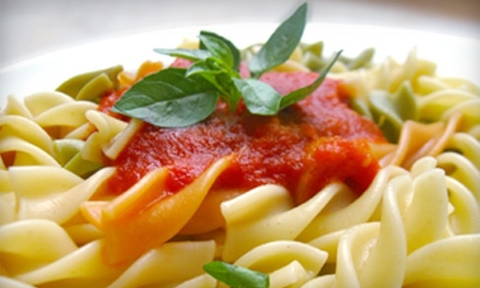 The Pasta Tree Restaurant & Wine Bar - Lower East Side: $20 for $40 Worth of Fresh Italian Cuisine and Drinks at The Pasta Tree Restaurant & Wine Bar