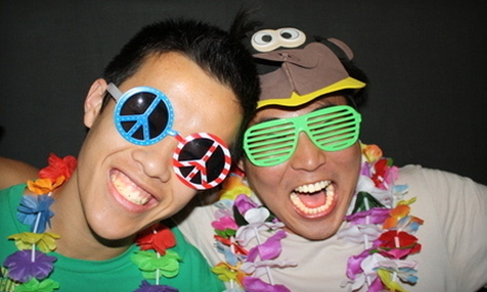 Tom's Photo Booth - La Jolla: $350 for a Photo-Booth Rental, Props, Unlimited Prints, and a Photo Disc from Tom's Photo Booth ($800 Value)