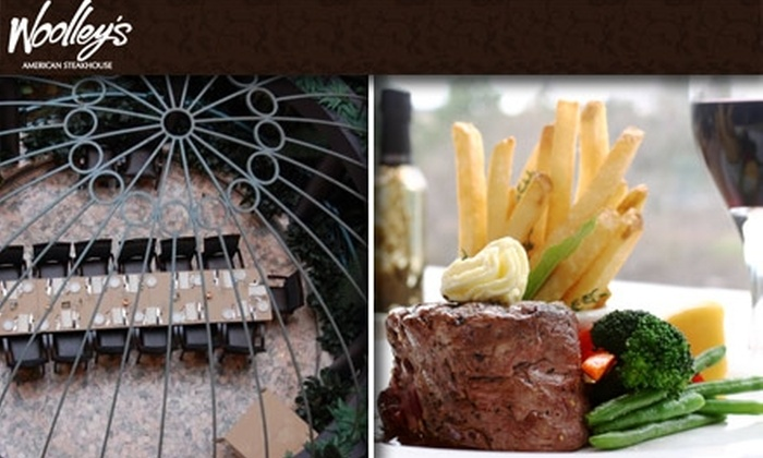 Woolley's Steakhouse - East Bloomington: $35 for $75 Worth of Juicy Steaks at Woolley's Steakhouse