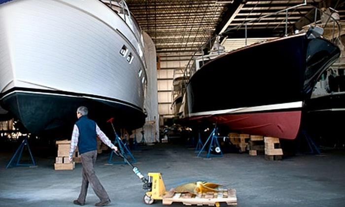 Maine Yacht Center - East Deering: $50 for $100 Worth of Services, Fuel, and Merchandise at Maine Yacht Center