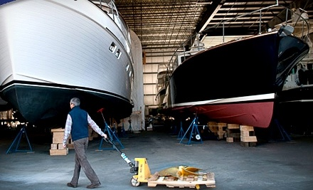 $100 Groupon to Maine Yacht Center - Maine Yacht Center in Portland
