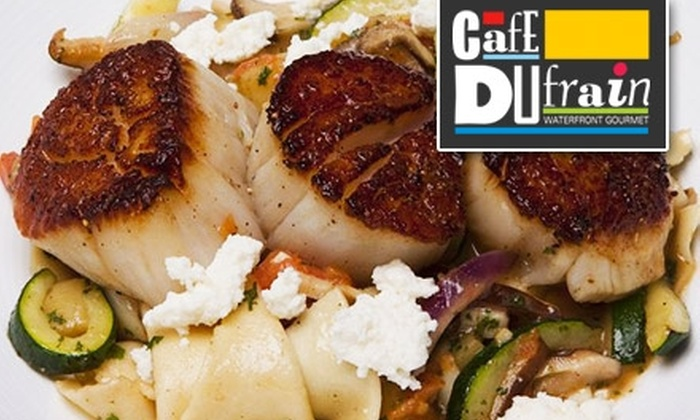 Café Dufrain - Tampa Bay Area: $15 for $30 Worth of Creative American Cuisine and Drinks at Café Dufrain