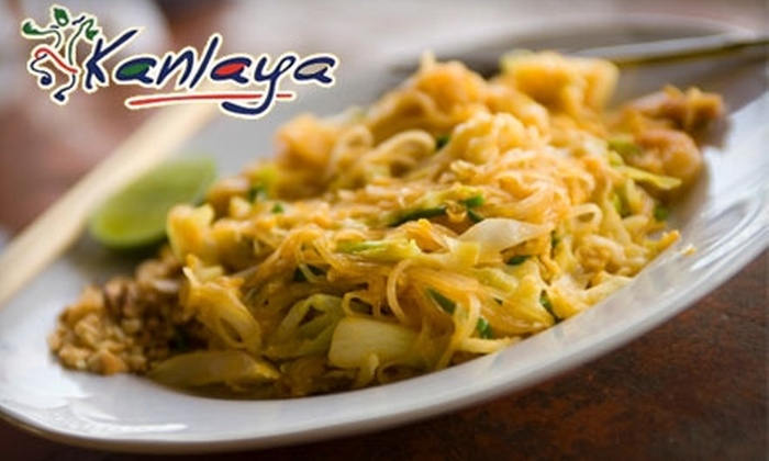 Kanlaya Thai Cuisine - Downtown - Penn Quarter - Chinatown: $20 for $40 Worth of Authentic Thai Fare at Kanlaya Thai Cuisine