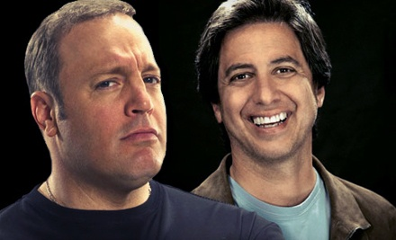 Kevin James and Ray Romano at William Saroyan Theatre on Wed., Mar. 21 at 8PM: Upper-Balcony Seating - Kevin James and Ray Romano in Fresno
