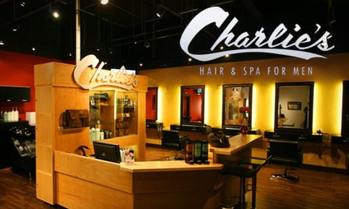 Charlie's Hair & Spa for Men - Pico - Robertson: $20 for a Deluxe Haircut at Charlie's Hair & Spa for Men ($40 Value)