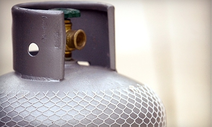 Youngstown Propane - Austintown: $10 for a 20 Lb. Propane Tank Refill at Youngstown Propane ($20 Value)