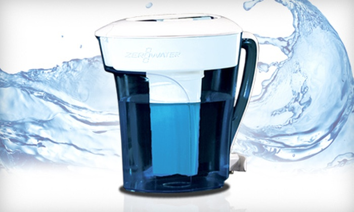 Water-Filtration Pitcher: $15 for a ZeroWater 10-Cup Filtration Pitcher with a Five-Stage Dual Ion-Exchange Filter from Zero Technologies LLC ($37.99 Value)