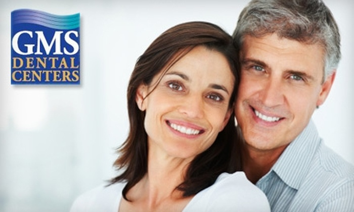 GMS Dental Centers - Multiple Locations: $159 for Zoom! Teeth-Whitening Treatment at GMS Dental Centers ($475 Value)