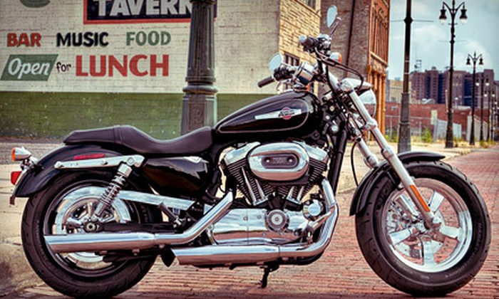 New Orleans Harley-Davidson - Airline Park: Harley-Davidson Rental from New Orleans Harley-Davidson in Metairie (Up to 58% Off). Four Options Available.