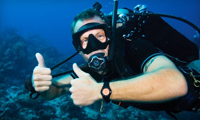 Underwater Connection - Multiple Locations: $22 for a Discover Scuba Class at Underwater Connection ($45 Value)
