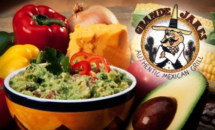 $15 Groupon to Grande Jake's Authentic Mexican Grill - Grande Jake's Authentic Mexican Grill in Lindenhurst