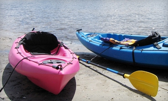 Sweetwater Kayaking - St. Petersburg: Four-Hour Rental from Sweetwater Kayaking in St. Petersburg. Two Options Available.
