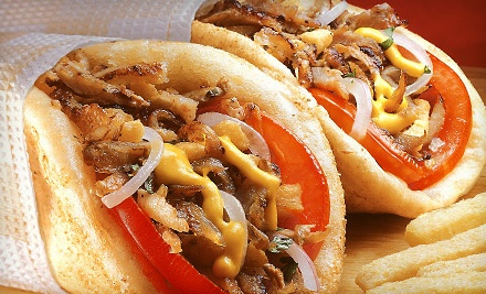 $16 Groupon to Tony's Pizzeria and Gyros - Tony's Pizzeria and Gyros in Yukon