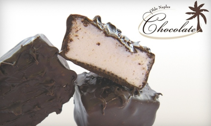Olde Naples Chocolate - Lake Park: $10 for $20 Worth of Gourmet Chocolate at Olde Naples Chocolate