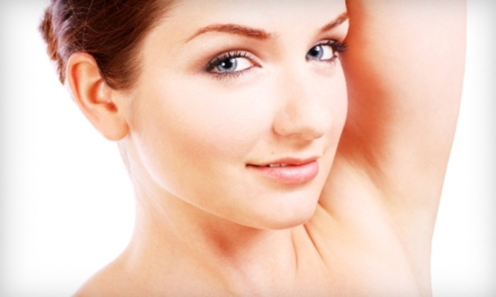 Choice MedSpa - Mount Airy: $140 for Three Laser Hair-Removal Treatments at Choice MedSpa (Up to $420 Value) in Mount Airy