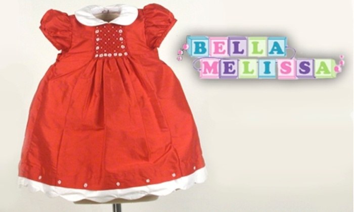 Bella Melissa: $20 for $40 Worth of Children's Clothes from Bella Melissa