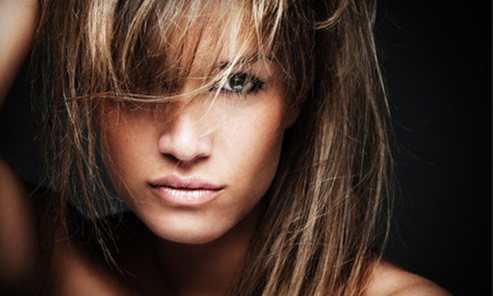 The Head Room Salon - Old Town: $39 for a Women's Haircut, Deep-Conditioning Treatment, and Partial Highlights at The Head Room Salon ($110 Value)