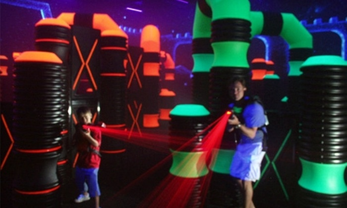 Star Castle - Skyland Terrace/Greenway Park/Grove Park: $8 for Roller Skating and One Game of Laser Tag at Star Castle (Up to $17 Value)