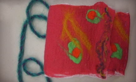 Intro to Felt-Making Class for 1 (a $40 value) - Eugene Textile Center in Eugene
