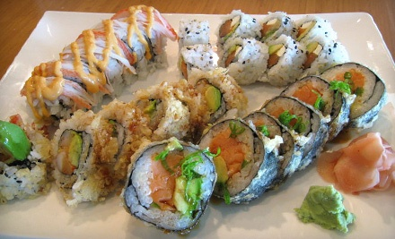 $40 Groupon to The Sushi Bar - The Sushi Bar in Edmond