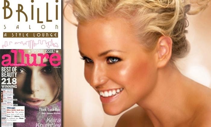 Brilli Salon - Lakeview: $55 for Three Airbrush Tans at Brilli Salon (Up to $165 value)