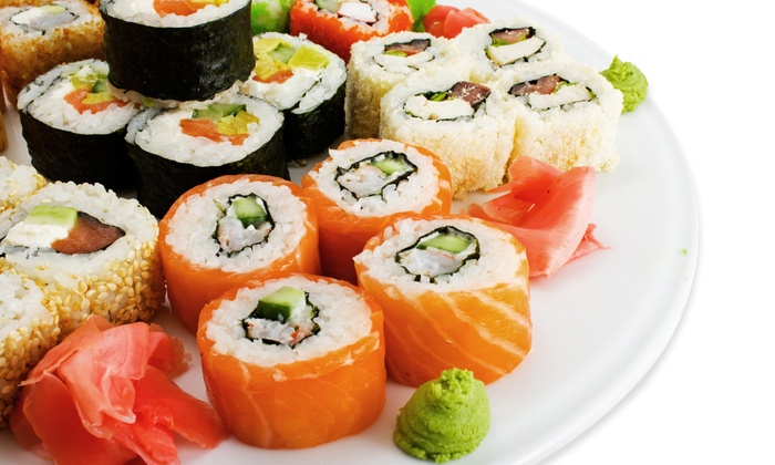 Red Bar & Sushi - Downtown Columbus: $15 for $30 Worth of Sushi and Red Bar & Sushi